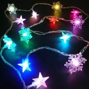 LED colorful light christmas tree ornaments decoration  LED string light,LED rope light, LED meteor rain light, net ligh Manufactures