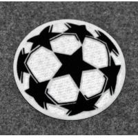 3 Inches TPU Custom Cloth Badges For Jackets , Jeans , Fabric Logo Badges Manufactures