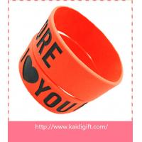 new fashion silicone arm band,1 inch silicon wrist bands Manufactures