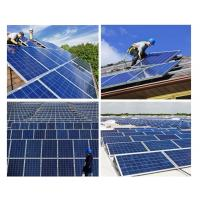 200 Watt Silicon Solar Panels Tempered Front Glass With Maximum Power Output Manufactures