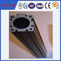 HOT!!!Export high quality of custom t slot anodized black color aluminum extrusions Manufactures