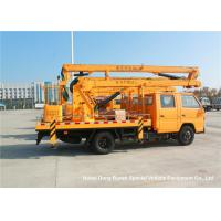 China JMC 14-16m 4x2 Double Cabin Aerial Platform Truck For High Operation Working on sale