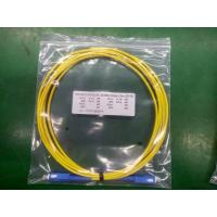 Indoor 1m Sc To Sc Fiber Patch Cord , Data Sc To Sc Single Mode Fiber Patch Cable