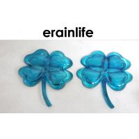 Child Home Decorating Accessories 2 Pcs Blue Polyresin Flower Manufactures