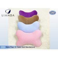 Cute Memory Foam Pillows for Cervical Spine Protection , colorful Car Neck Rest Pillow Manufactures