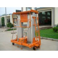 Aluminum alloy mobile hydraulic lift platform / Equipment 100kg 150kg for hotel , airport Manufactures