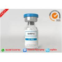Raw Growth Hormone Peptides Lyophilized Powder 87616-84-0 GHRP-6 10mg / vial Manufactures