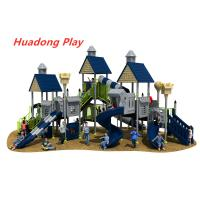 Villa Series Outdoor Playground Slide Include Exotic Architecture Manufactures