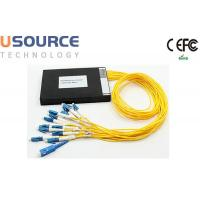 16 - 18 Channel 1270 - 1610nm Full Wave CWDM Mux Demux module LAN Network Manufactures