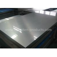 China Molybdenum TZM Sheets , Molybdenum Alloy Plates Thickness 10mm - 100mm on sale