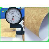 China 250gsm Clay Coated Kraft Back Take Out Box Paper Food Grade In Reel on sale