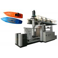 Large Plastic Extrusion Blow Molding Machine , 1.8m / 2.7m Boat Plastic Moulding Machine Manufactures
