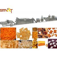 China Electrical Automatic Snack Food Extruder Machine / Corn Puff Making Machine on sale