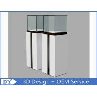 OEM Fashion Practical Jewelry Display Cases For Trade Shows Semi - gloss White Manufactures