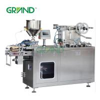 China Thermoforming Liquid Blister Packing Machine For Butter Honey Jam Sauce DPP-150 on sale