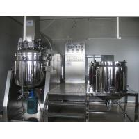 Cosmetic Machine Stainless Steel Ointment Vacuum Homogenizing Emulsifying Machines Manufactures