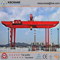 China Manufacturer Direct Sale Double Girder Rubber Tyre Gantry Crane/Tyre Mounted Crane on sale