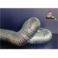 Hydroponics Ventilation System Flexible Heating Duct Aluminum Duct With Dual Layer Manufactures