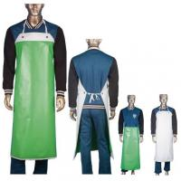 Food Industry PVC Coated Protective Clothing Aprons PVC Coated For Both Sides Manufactures