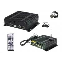 4 Channel 720P AHD SD Card Mobile DVR / Audio Surveillance Recording System Manufactures