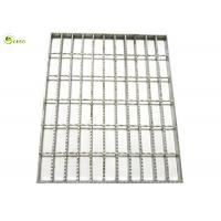 Steel Frame Lattice Drain Trench Cover Serrated Flat Bar Steel Grating Panel Manufactures