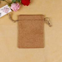 Light Weight Custom Printed Jute Bags , Weather Resistant Promotional Jute Bags Manufactures