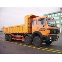 China famous best price North Benz 8*4  LHD/RHD dump truck/tipper for sale, good price North Benz dump tipper truck Manufactures