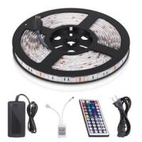 China RGB 5050 Flexible Adhesive Led Strip Lights SKD Waterproof 5M 16.4ft With Remote Control on sale