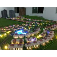 1/300 scale real estate development model with warm light for villas Manufactures