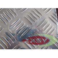 Corrosion Resistance Non Ferrous Aluminium Checker Plate With Hot Rolled Manufactures
