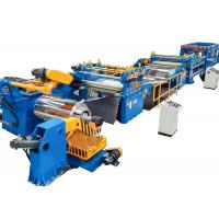 Hydraulic Cut To Length Line Machine / Carbon Steel Cut To Length Machine Manufactures