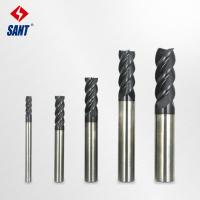 Buy cheap China high quality and durable Carbide End Mills with four flute 50/75mm length from wholesalers