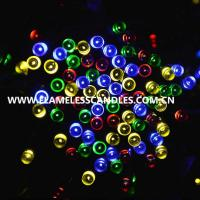 1.5m Solar Powered LED Battery Operated Outdoor String Lights for Birthday / Party / Event Manufactures