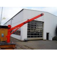 Marine Stick Fixed boom Floating Crane For Sale Manufactures