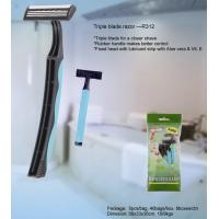 Twin/triple blade disposable razor for man Manufactures