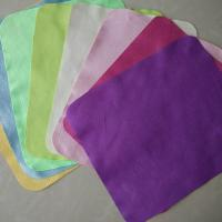 Microfiber solid-color lens cleaning cloth-lint free
