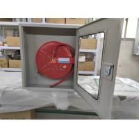 China Single Door Fire Extinguisher Cabinets SS / Cold Rolled Steel Type Optional on sale