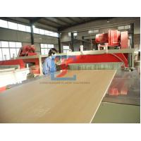 PVC WPC Door Panel Wood Plastic Extrusion Line With CE / BV / ISO CE/BV/ISO Manufactures