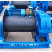 Wire Rope Heavy Duty Electric Winch For Dragging Or Lifting Heavy Materials Manufactures
