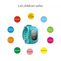 China Child Gps Tracker Wrist Watch With Remote Location Tracking , Kids Tracking Device Watch on sale