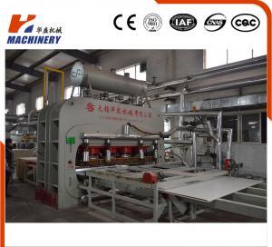 China Latest Model Hot Press Lamination Line For Plywood , Wood Veneer Press Machine on sale