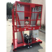 10m Hydraulic Order Picker Forklift Lifting Platforms With Lift Rated Capacity 250kg Manufactures