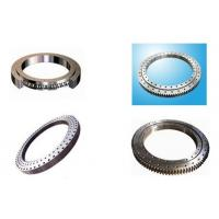 Single Row Slewing Ring Bearings With Four Point Contact Ball Bearing External Gear Manufactures