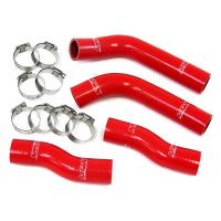 China Red Exhaust Silicone Rubber Hose For Racing Vehicles , Rubber Hose Pipe on sale