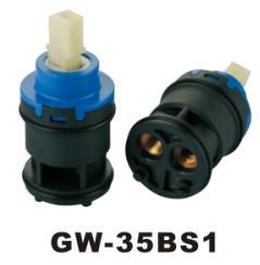 Plastic Ceramic Cartridge Diverter 2 Ways GW-35BS1 Manufactures