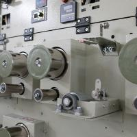China Bobbin Spooling Yarn Winding Machine High Strength Grooved Drum 115kg Per Section on sale
