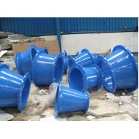DN100 to DN500 Ductile iron fittings Double flange reducer with internal cement coating Manufactures