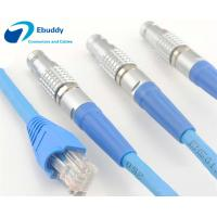 Lemo cable assembly service Lemo FGG male plug to RJ45 Cat5e/ Cat6 / Cat7 shield Ethernet cable Manufactures
