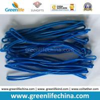Bright Solid Dark Blue High Quality Luggage Tag Loop Cord Manufactures