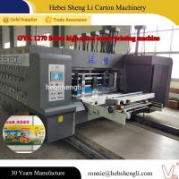 China High Speed Corrugated Sheet Printing Machine CE ISO Certification on sale